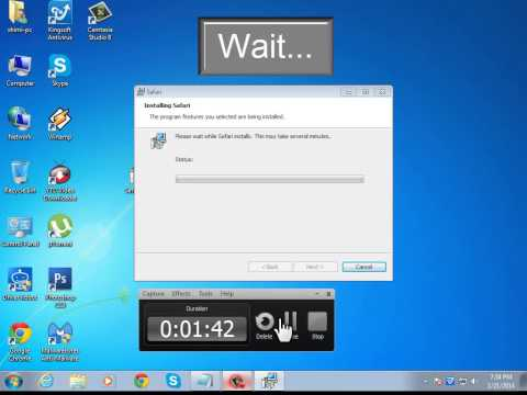 How to download Safari for windows 7/8 xp ( 2014 )