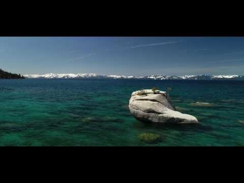 Bonsai Rock & Sand Harbor Lake Tahoe Flight - DJI Phantom 4 Pro 4k 60FPS