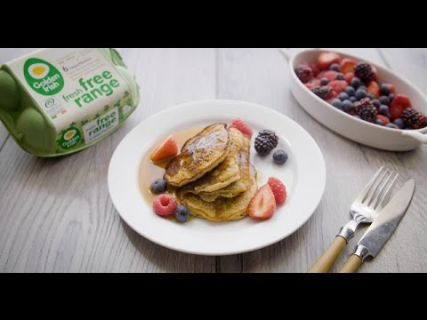 Protein Oat and Banana Pancakes