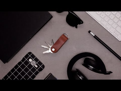 DIY Leather Key Organizer