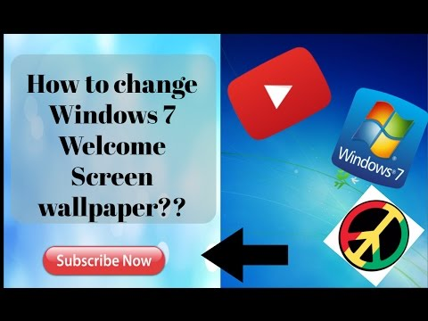 How to change Windows 7 WELCOME/LOGIN screen background??
