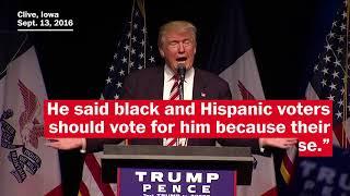 Three controversies stemming from Trump's rhetoric on race