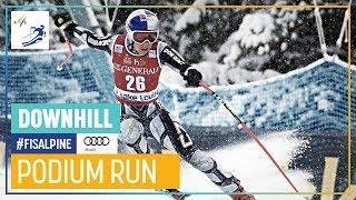 Ester Ledecka   Women's Downhill   Lake Louise   1st place   FIS Alpine