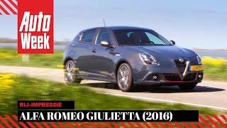 Alfa Romeo Giulietta (2016) - English subtitled - AutoWeek review