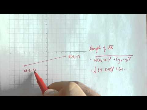Finding the length of a line segment