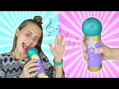 DIY Lip-sync Microphone | Make Creative Easy Kids Crafts