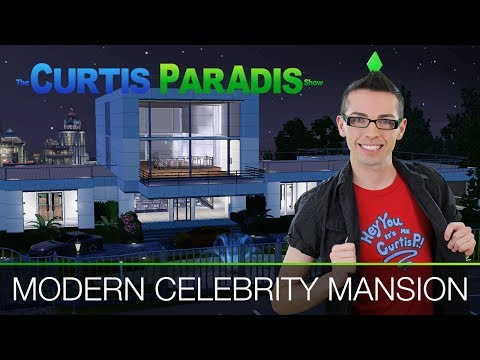 The Sims 3 - Building a Modern Celebrity Mansion