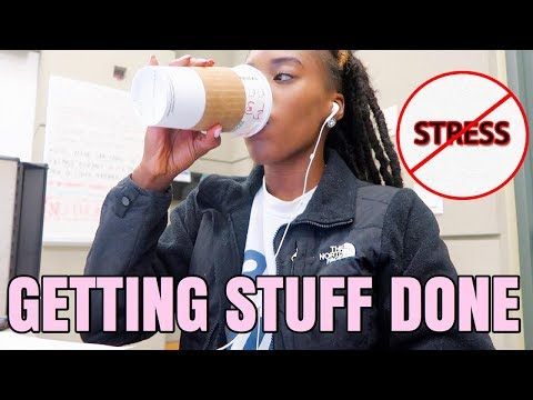 FORGET STRESS, GET STUFF DONE!  | Law School/ Grad Vlog PT.2