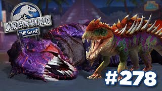MAXED Gorgosuchus Takes On OMEGA 09!    Jurassic World - The Game - Ep278 HD