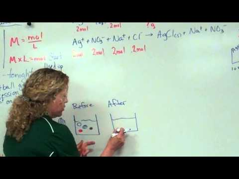 Calculating grams ppt and [ion] after a reaction (3 of 6)