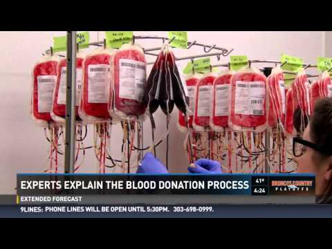 Blood's journey from donor to patient