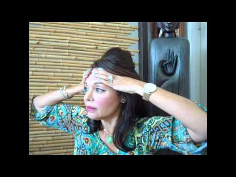 Face Yoga, Tone The Muscles Of The Forehead For A Younger Face.