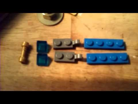 How to make a Lego Energy sword from Halo