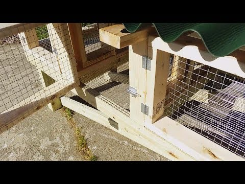 Three rabbit hutch build