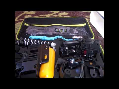 Lightdow LD4000 HD Camera Unboxing with DeKaSi 55-In-1 Sport Accessory Kit
