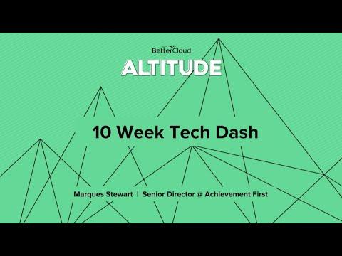 Altitude 2018: 10 Week Tech Dash