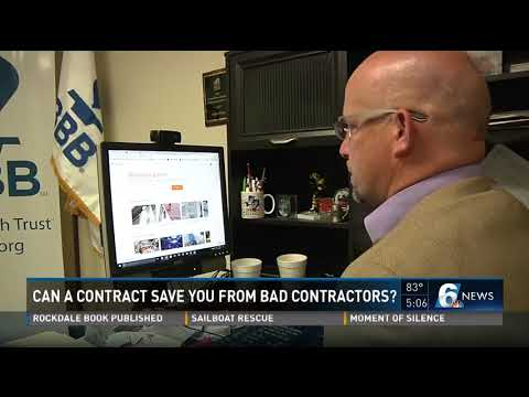 Can a contract save you from bad contractors?
