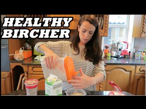 Healthy Bircher Muesli