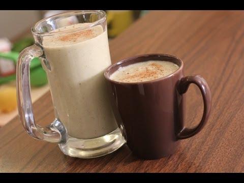 Vegan Eggnog Recipe - Dairy Free Egg Free - Vegan Christmas Egg Nog