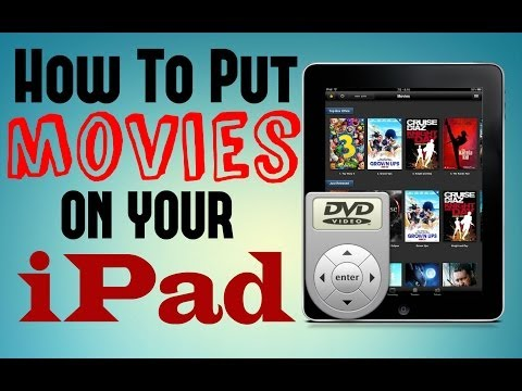 How to Put Movies on iPad - Copy/Sync DVDs