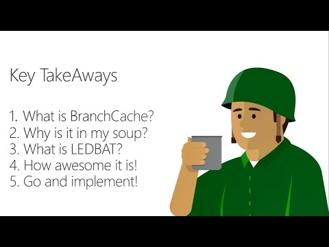 Dig deeply into BranchCache: Learning from the experts - BRK4006