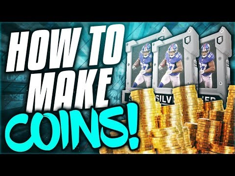 How to make MILLIONS of coins! Madden NFL 18 Ultimate Team