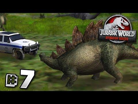 The Stegosaurus Mistake! - Jurassic World Operation Genesis | Jurassic Month