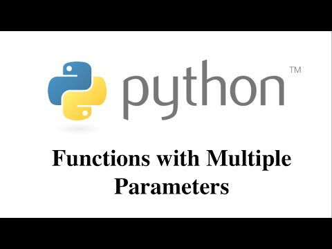 Function with Multiple Parameters in Python [HD 1080p]