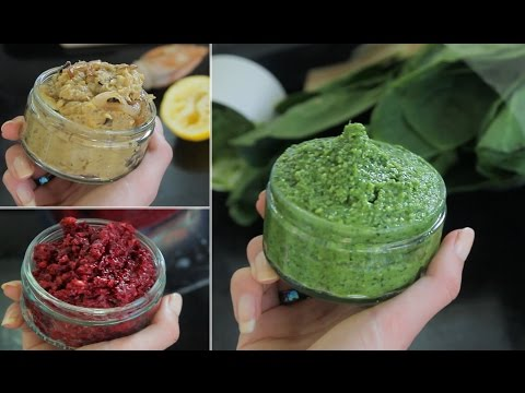 Favourite Dips! - Healthy snacking, Vegan