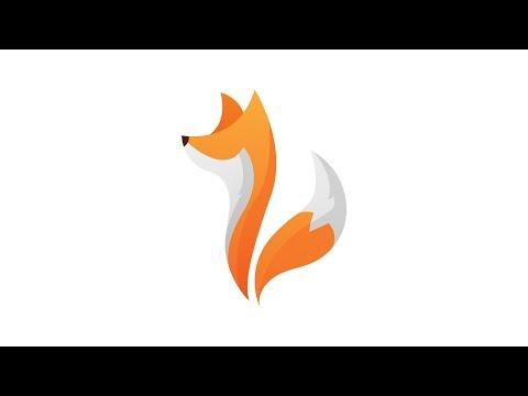 Fox Logo Design - Illustrator Download