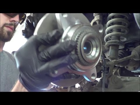 How to replace F150 Front Wheel Bearing - 2006 4wd