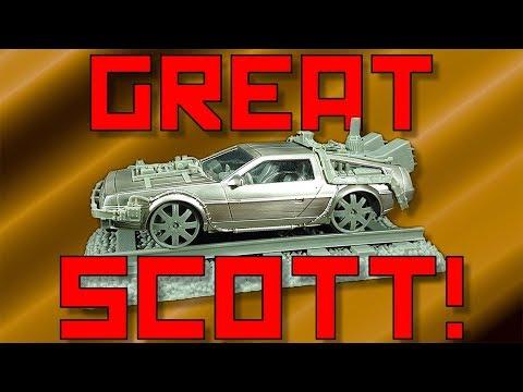Great Scott! - Back To The Future 3 DeLorean Time Machine [1:25]