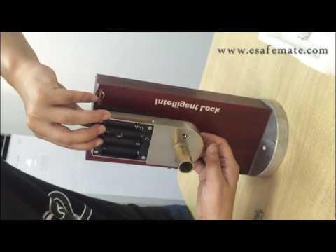 901B remote control door lock installation