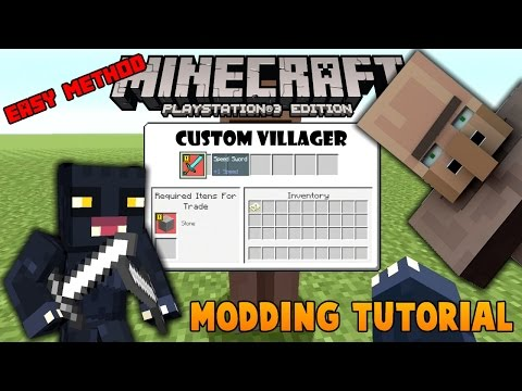 Minecraft PS3 Edition - Modding Tutorial