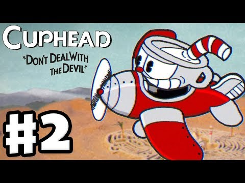Cuphead Gameplay Walkthrough Part 2 Dont Deal With The Devil
