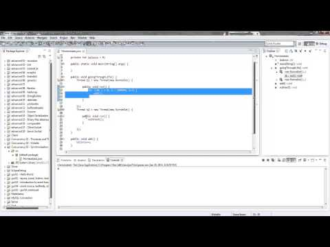 Java Multithreading - Synchronized