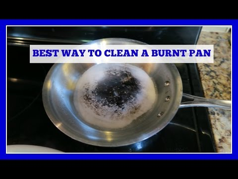 How to Clean a Stainless Steel Burnt Pan or Pot (Easy Method!)