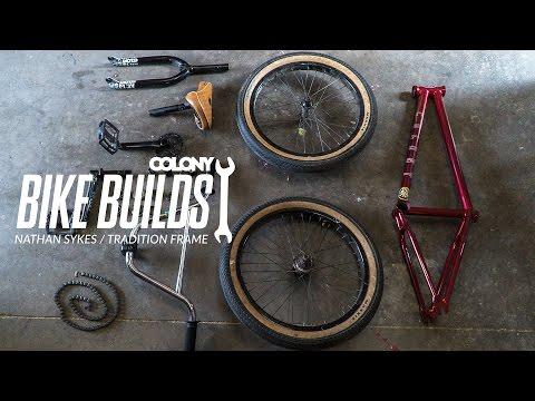 Nathan Sykes bike build - Colony BMX