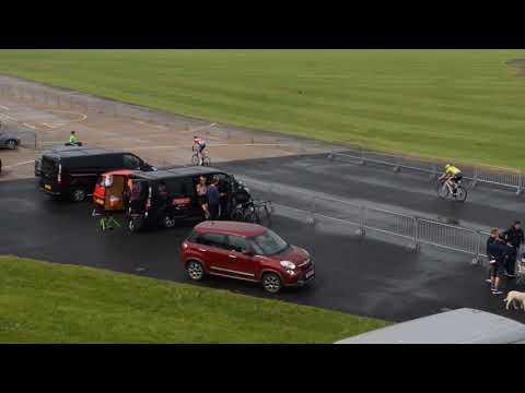 RAF Shawbury hosts cycle race