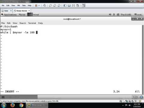 Bash Script on RHEL7