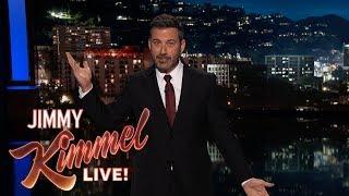 Jimmy Kimmel on LA Earthquakes