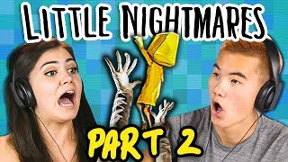 BEWARE THE JANITOR!!   LITTLE NIGHTMARES - Part 2 (React: Gaming)