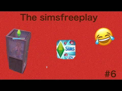 The sims freeplay | The shower sim?!? #6