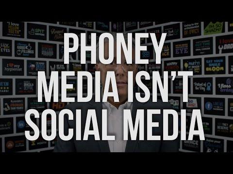 Phoney Media Isn't Social Media