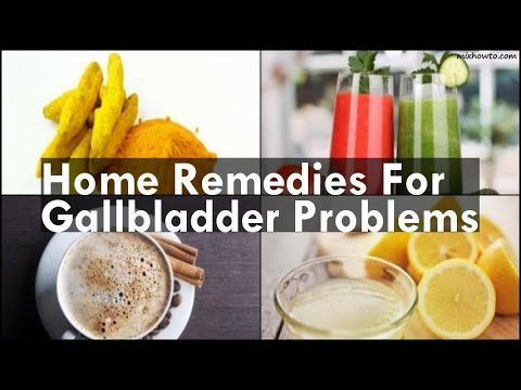 Home Remedies For Gallbladder Problems