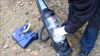 Dirt Devil upright vacuum (Belt Burning Smell and No Suction
