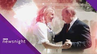 Why did Vladimir Putin attend the Austrian FM