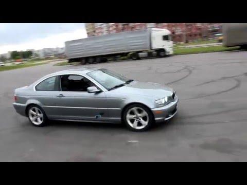DRIFT BMW e46 325Ci Minsk 2012