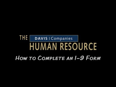 How to Complete an I-9 as an Employee