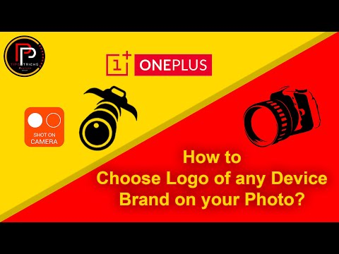 Choose Logo of your device brand